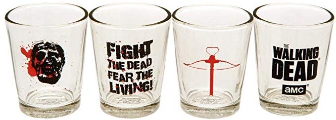 Vasos de chupitos de The Walking Dead