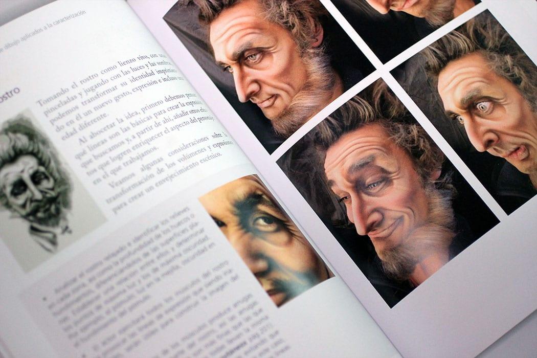 Irma de La Guardia libro de Técnicas De Maquillaje Profesional y Caracterización