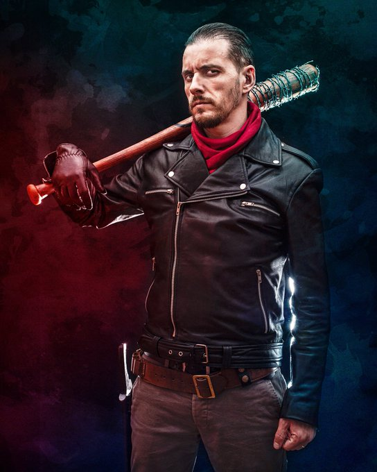 Negan Cosplayer - Oscar