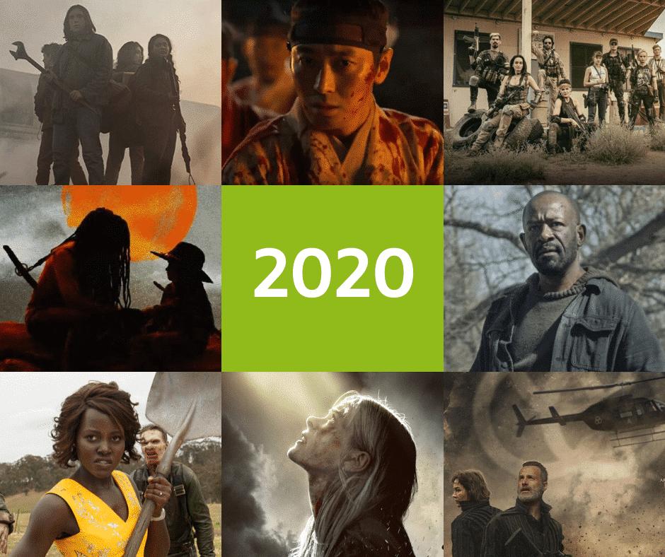Películas y series en 2020 de zombies