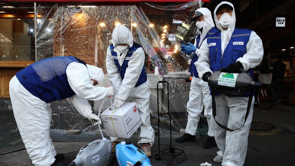 Corea del su con coronavirus