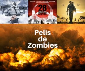Diferentes películas de zombies e infectados para ver