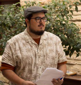 Juan Antonio Chavero director de la película La Sombra