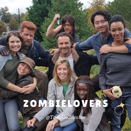 The walking Dead familia de zombielovers