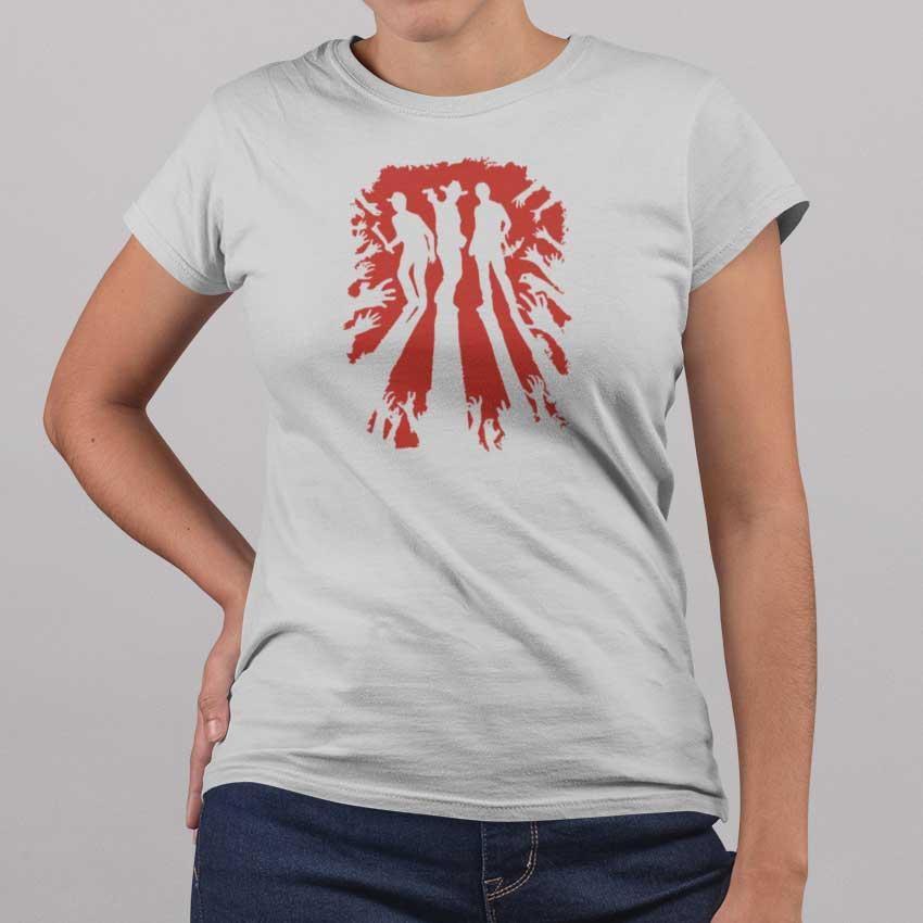 Camiseta de mujer de The Walking Dead con Rick Grimes, Daryl y Glenn