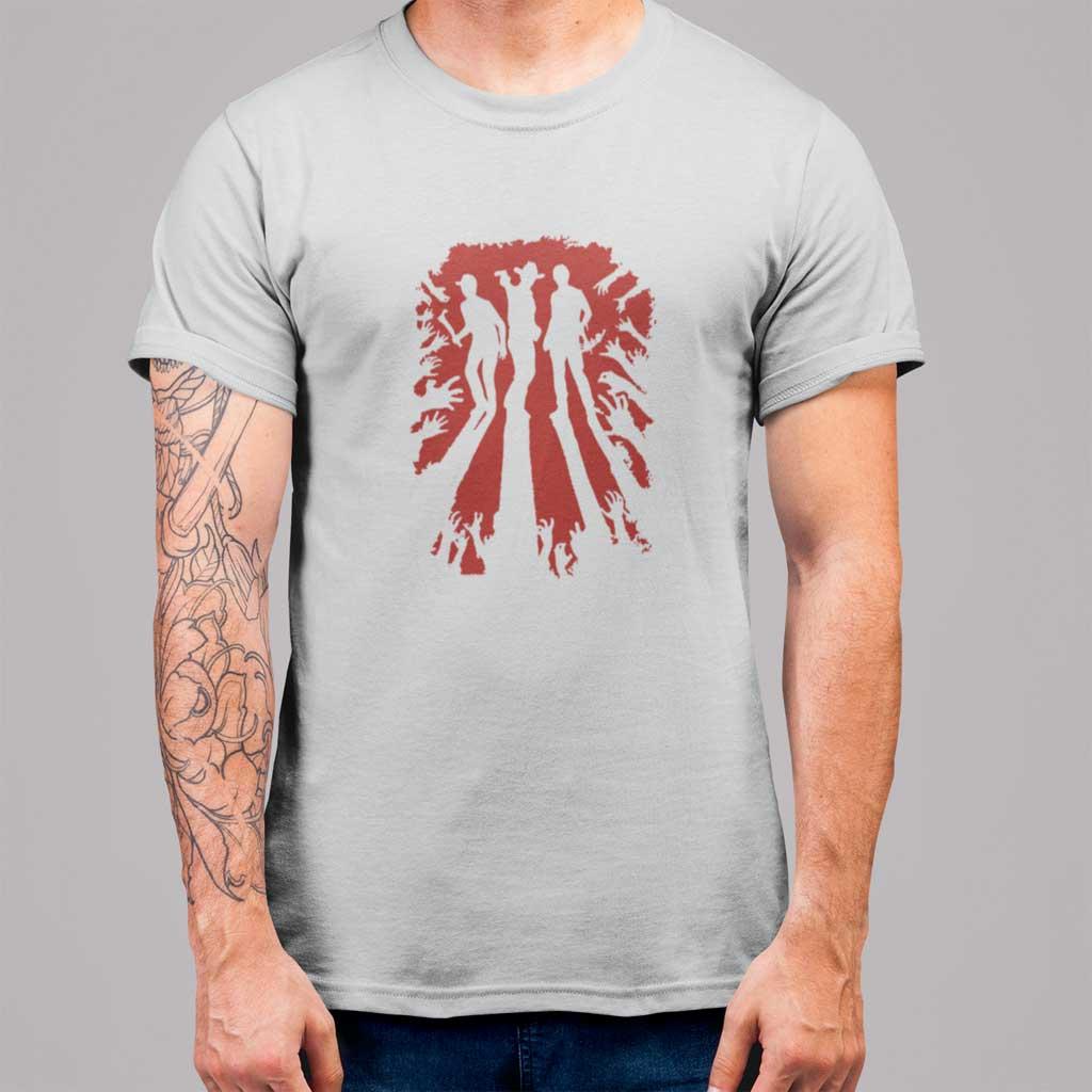 Camiseta de hombre de The Walking Dead con Rick Grimes, Daryl y Glenn