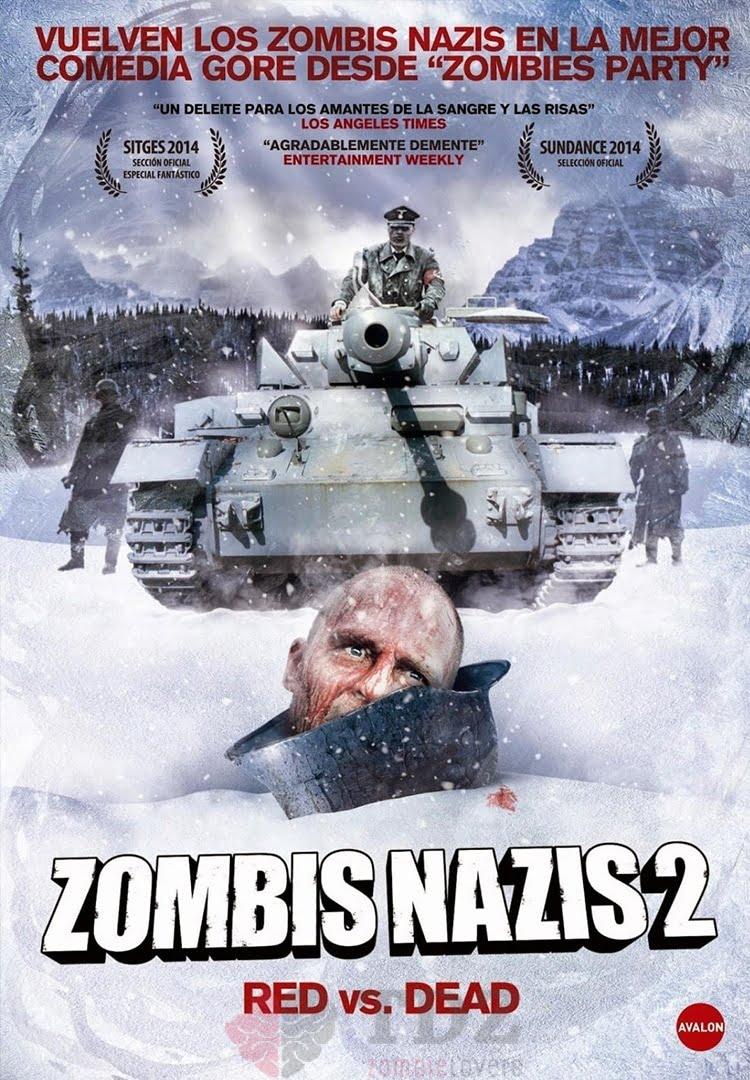 Zombis nazis 2. Red vs. Dead