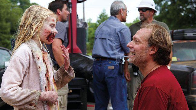 Greg Nicotero en el primer episodio de The Walking Dead