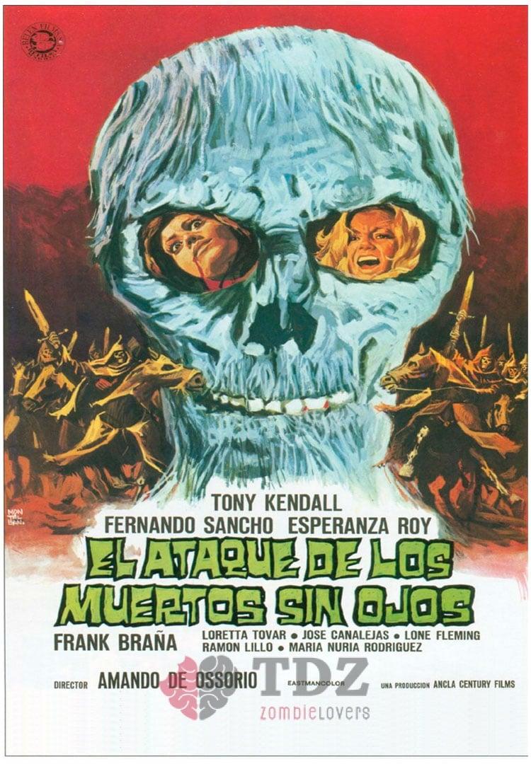 El ataque de los muertos sin ojos - 1973