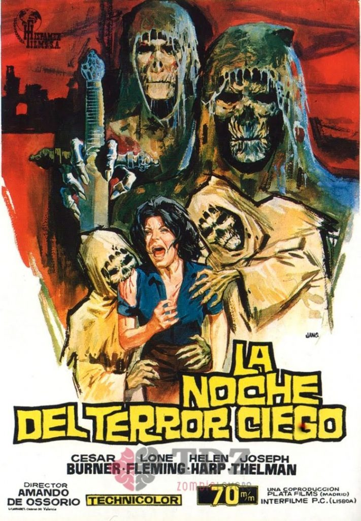 La noche del terror ciego - 1972