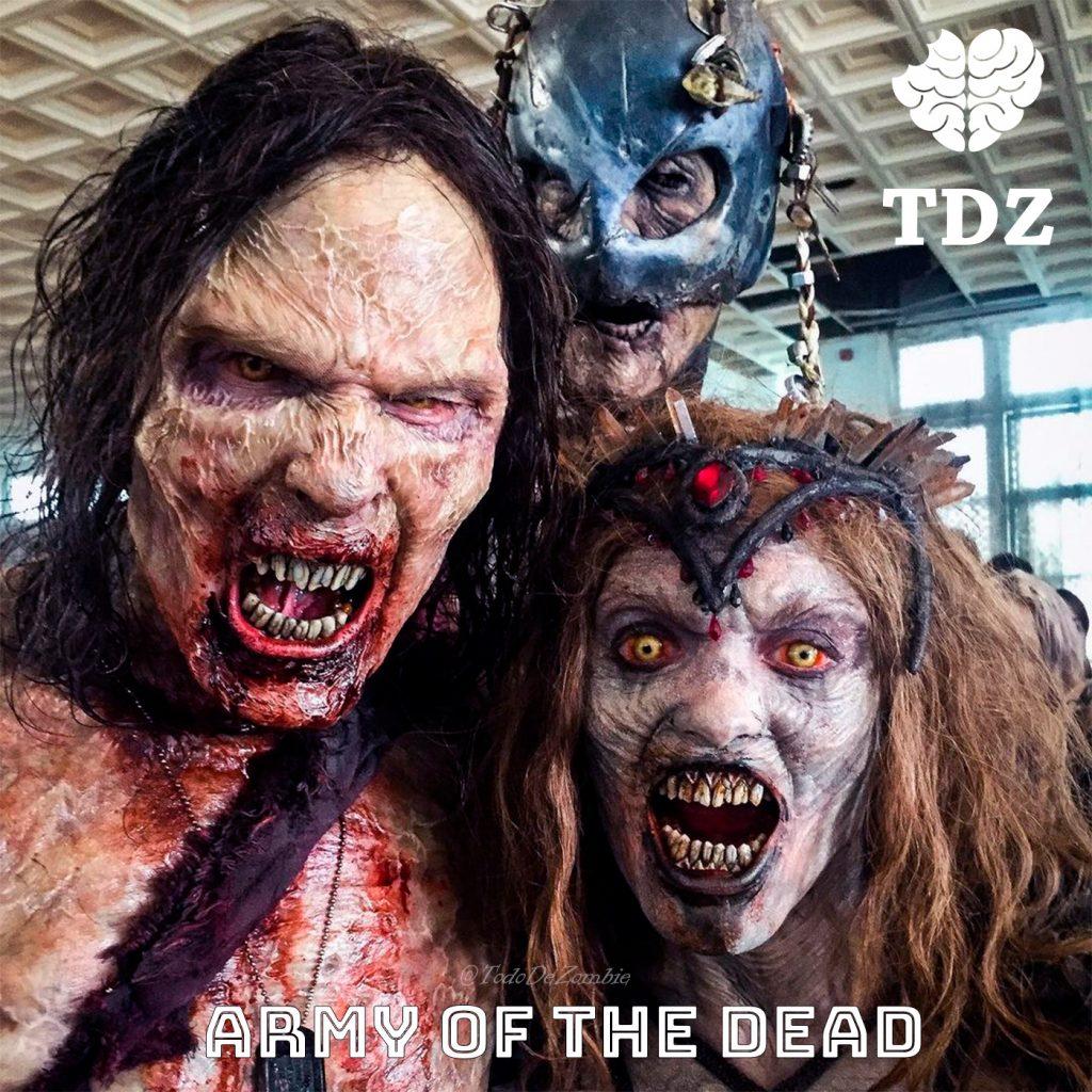 Amry of the dead o también conocida como Éjercito de los muertos - Especial sobre la película