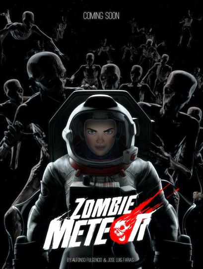 Poster de Zombie Meteor – La Película