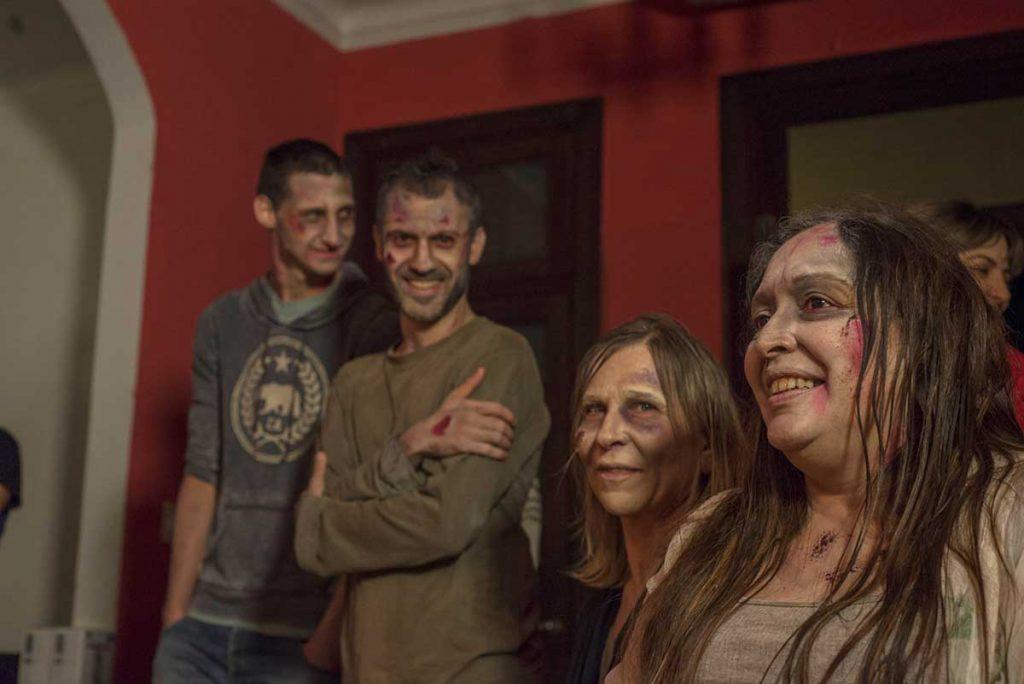 Los zombies de El último zombie de Martín Basterretche
