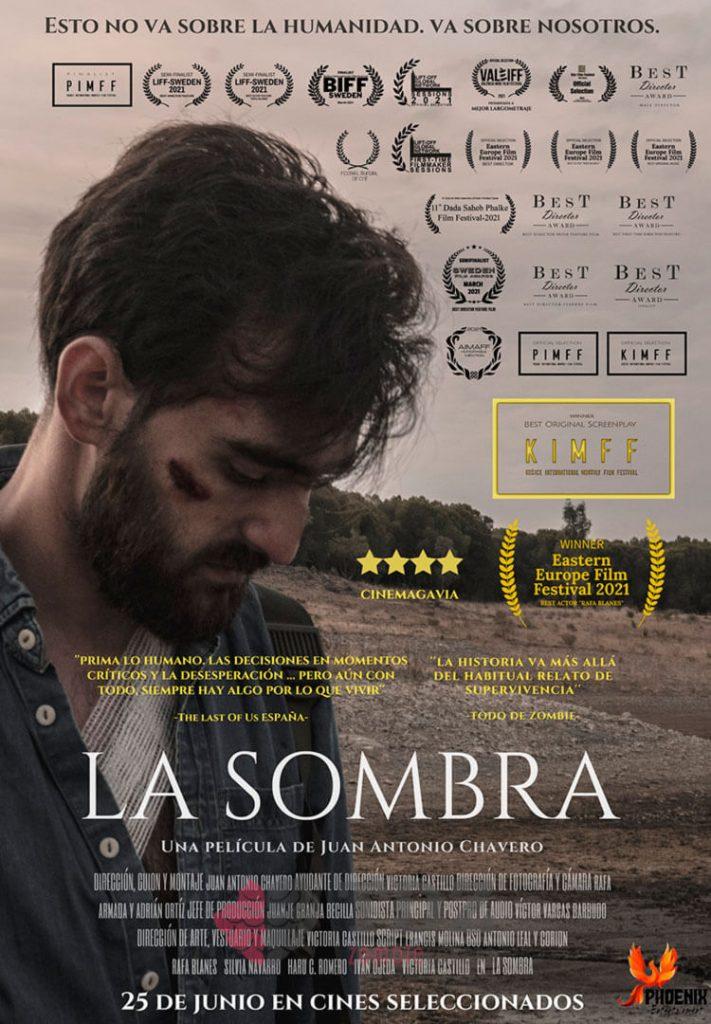 Portada de la película La Sombra por Juan Antonio Chavero