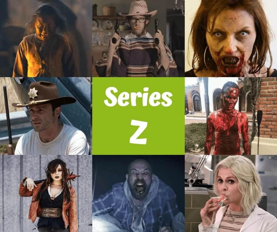 Selección TOP 11 de series de zombies