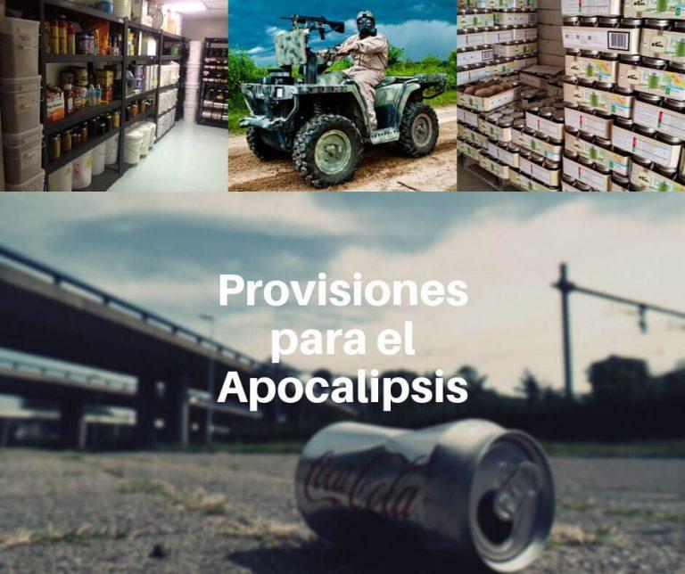 Provisiones recomendadas para el apocalipsis zombie