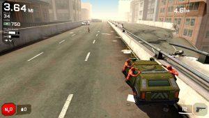 Zombies asaltando coche en Zombie Highway 2